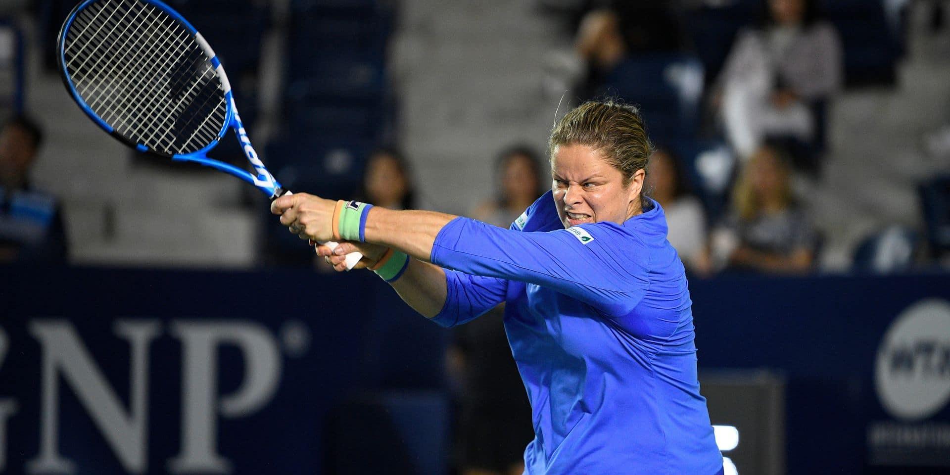 World Team Tennis: Kim Clijsters une nouvelle fois laissée au repos mardi