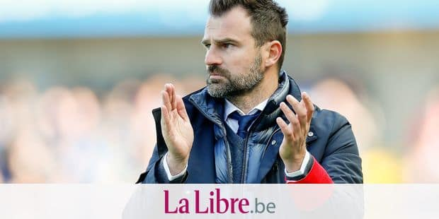 Club Brugge's head coach Ivan Leko pictured during a soccer match between Club Brugge and RC Genk, Sunday 12 May 2019 in Brugge, on day 8 (out of 10) of the Play-off 1 of the 'Jupiler Pro League' Belgian soccer championship. BELGA PHOTO BRUNO FAHY