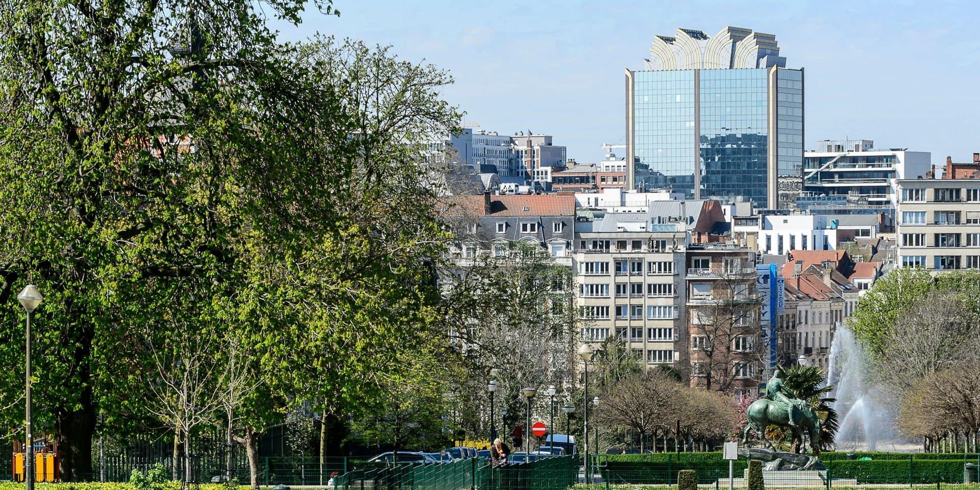 """Le quartier des Squares à Bruxelles : """"Beaucoup d'eurocrates apprécient de vivre près de la Commission et les loyers s'en ressentent clairement"""""""