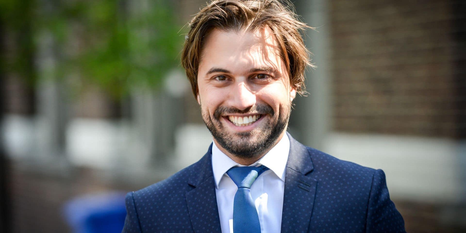 Georges-Louis Bouchez, nouveau président du MR