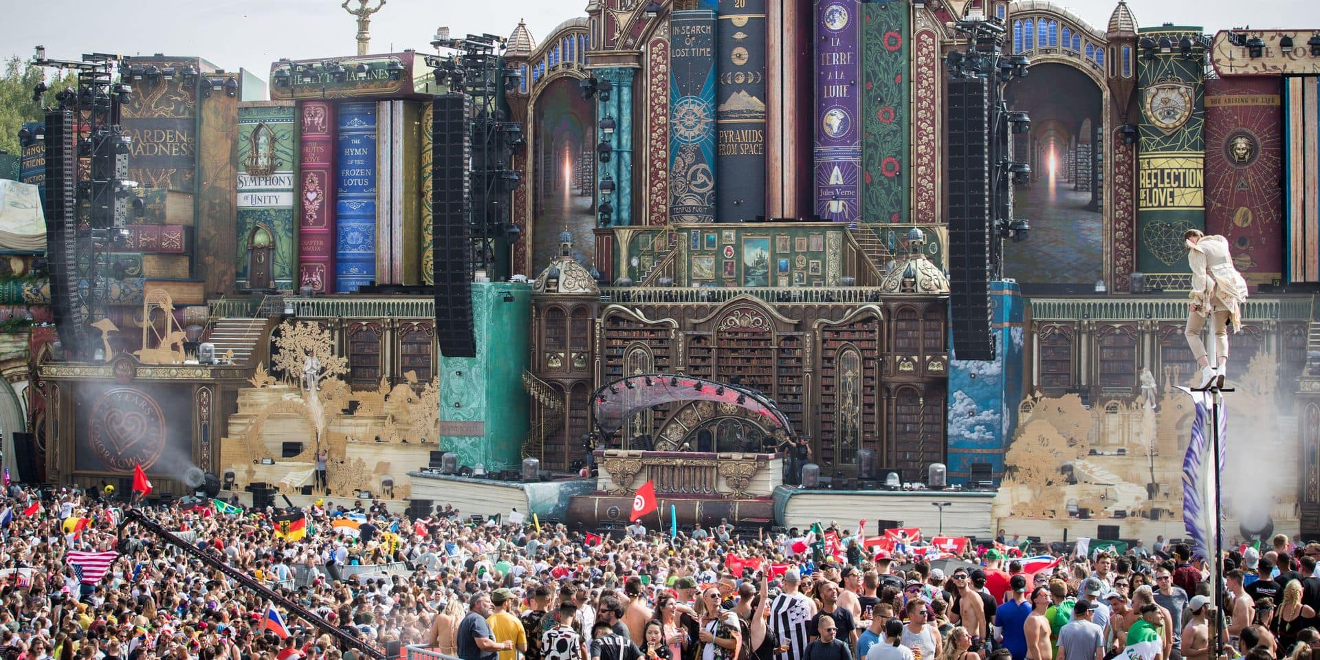 Tomorrowland: Vingt-quatre dealers interpellés lors du premier week-end de Tomorrowland