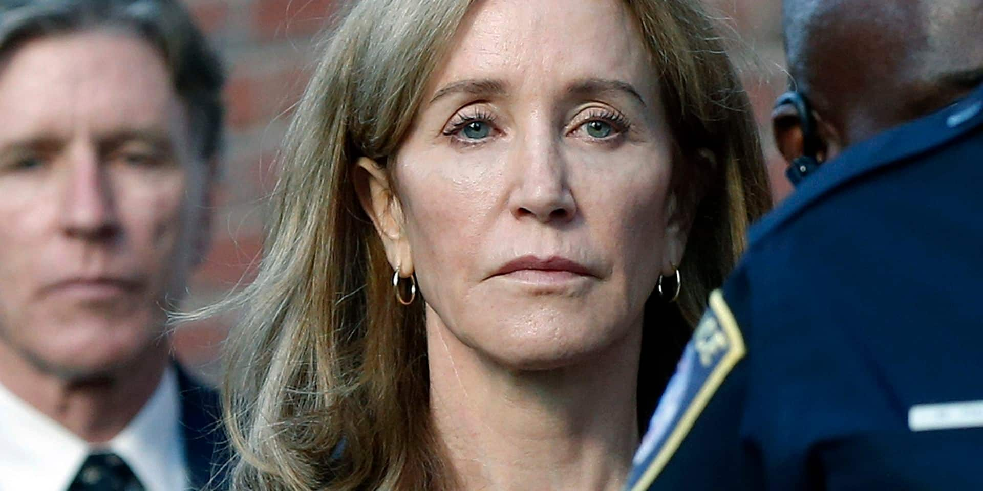 Felicity Huffman (Desperate Housewives) condamnée à faire de la prison