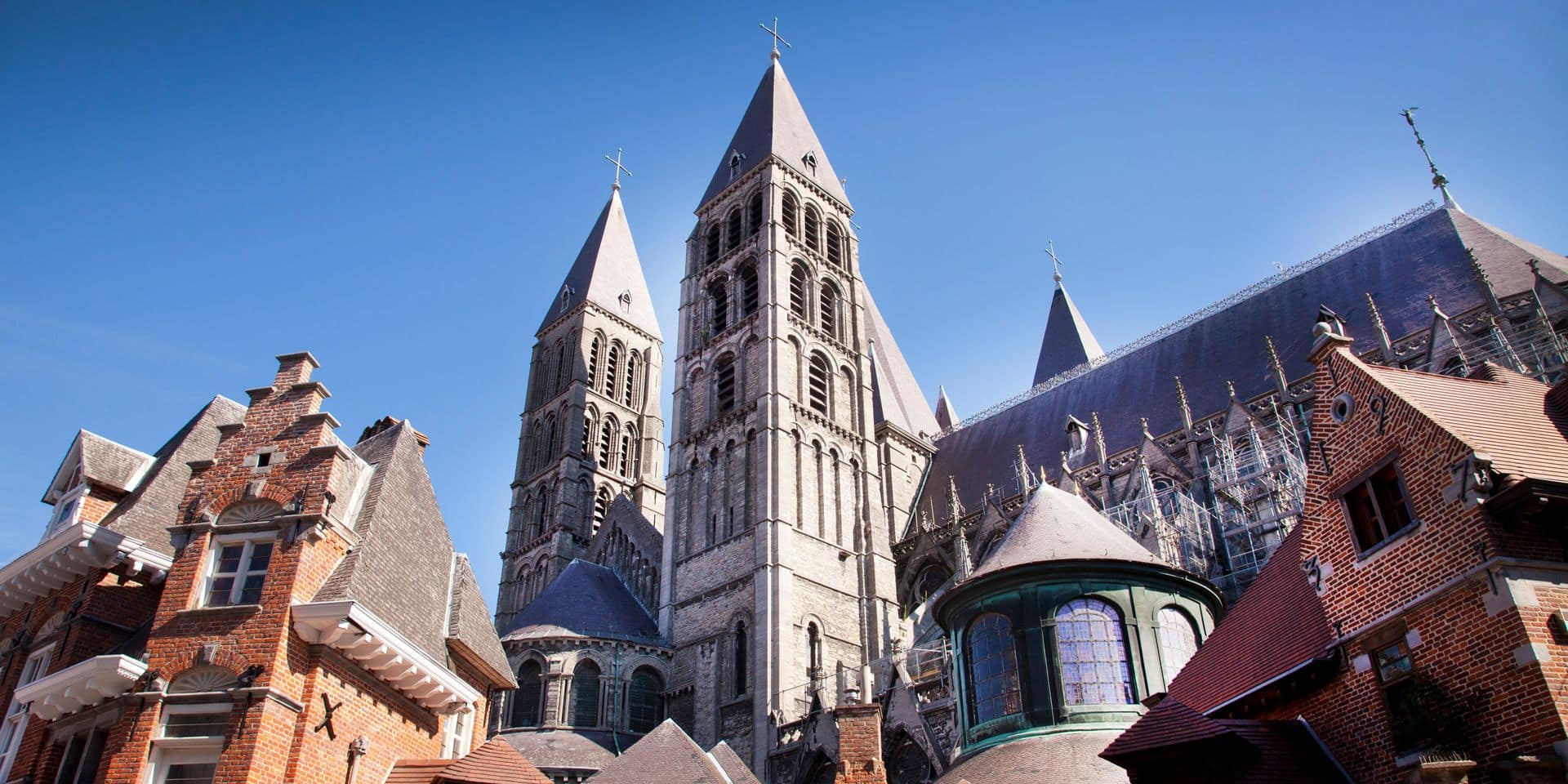 Tournai - Notre-Dame Cathedral - UNESCO world heritage