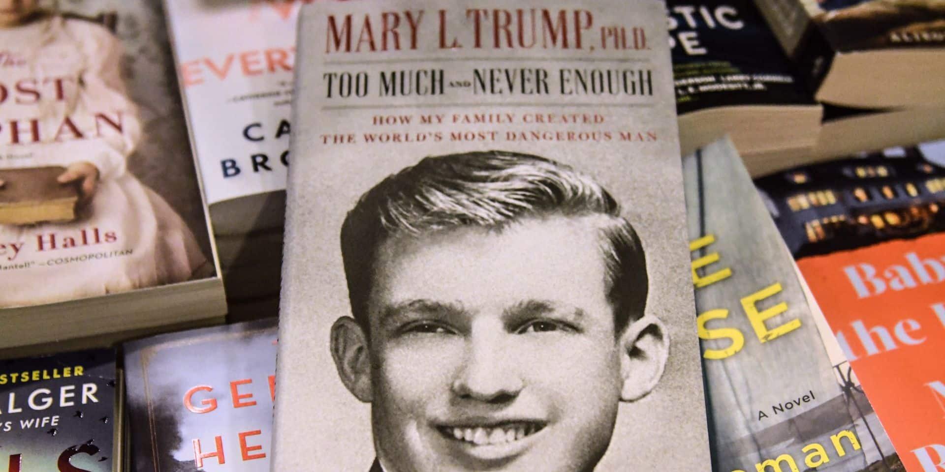 Carton plein pour le livre de la nièce de Trump : près d'un million de ventes le premier jour