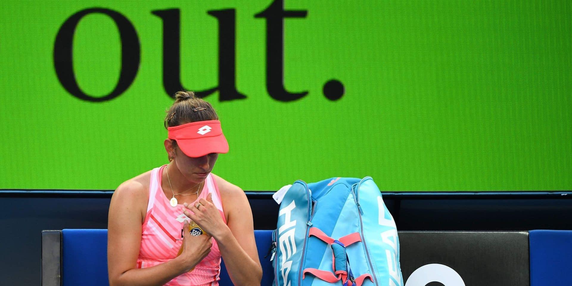 Australian Open: Elise Mertens s'incline en huitième de finale