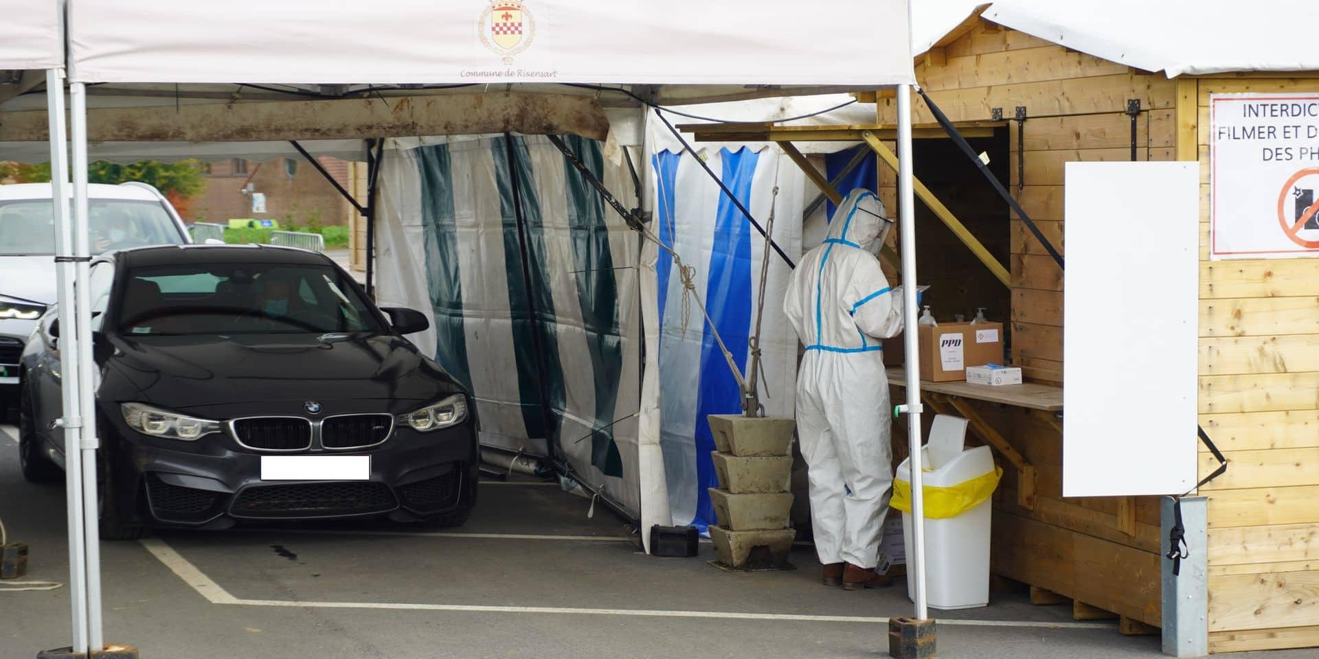 Lasne : sérieuse menace de grève au drive-in Covid