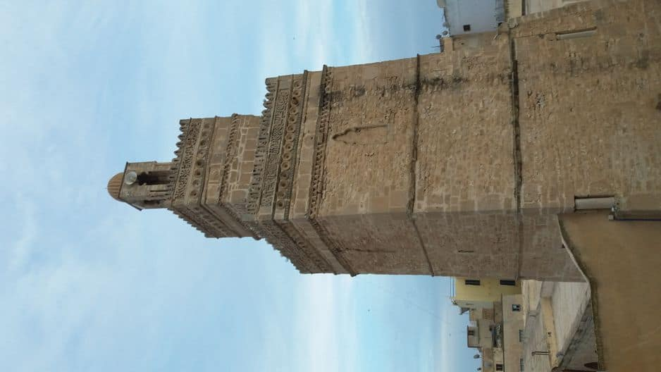 En plein cœur de la Médina, elle a été bâtie en même temps que cette dernière et les travaux ont duré environ dix ans.