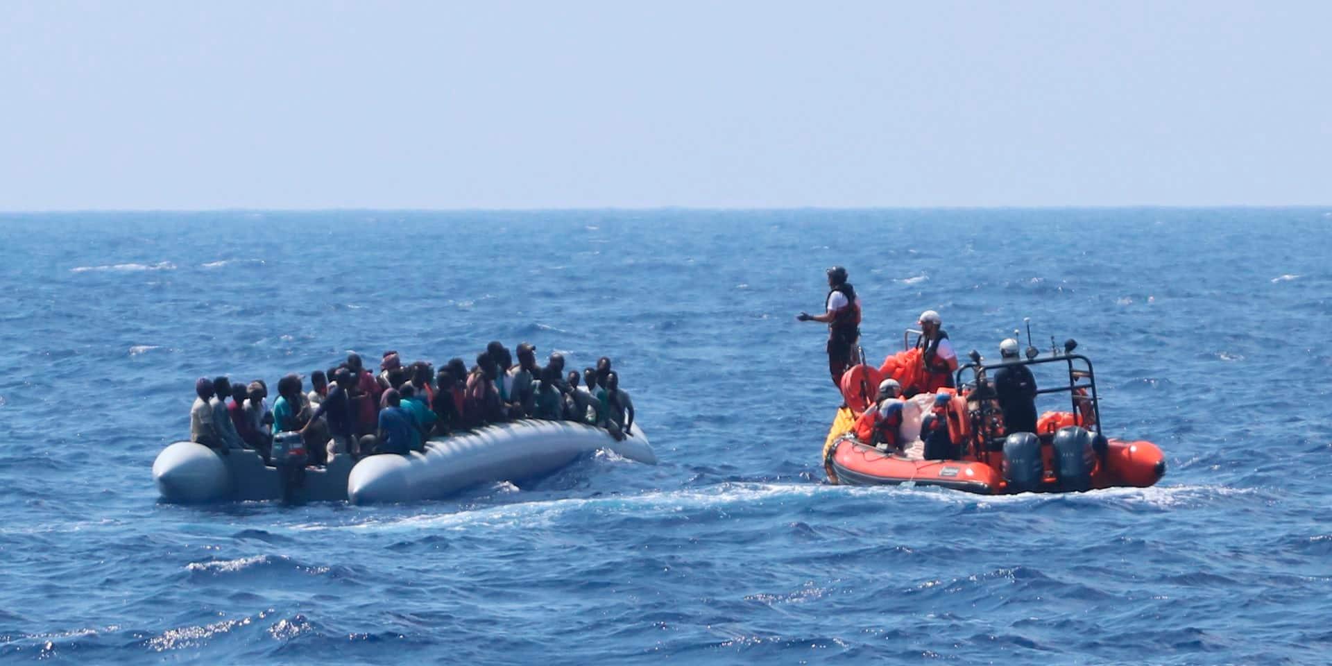 L'Ocean Viking débarque 236 migrants en Sicile