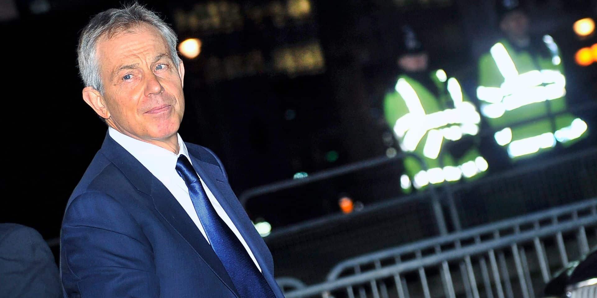 """Tony Blair dit ne pas avoir aimé être Premier ministre: """"J'étais insatisfait"""""""