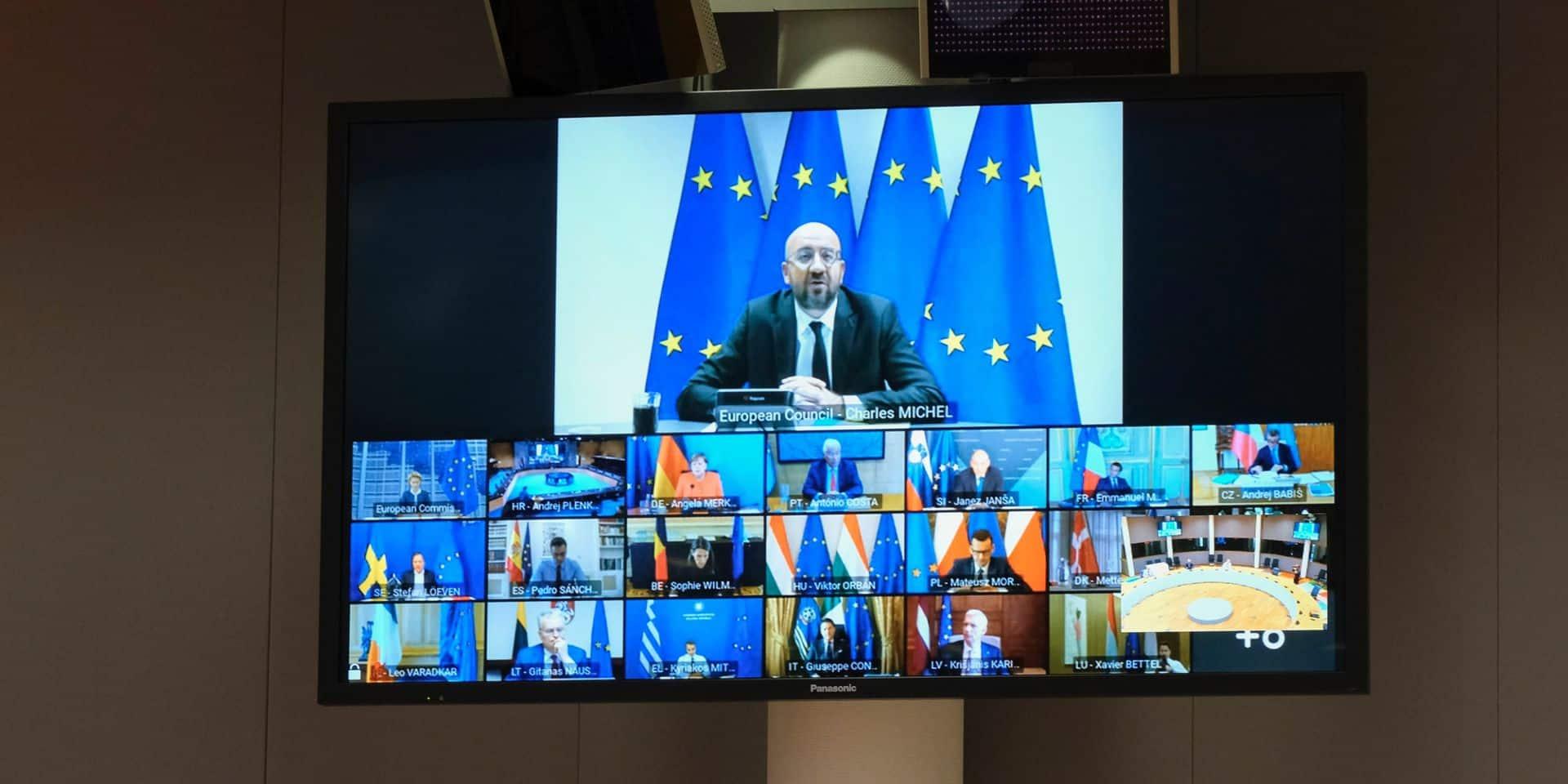 """Première épreuve au sommet pour le plan de relance massif de l'UE : """"Plus vite le paquet est adopté, mieux c'est pour l'économie"""""""
