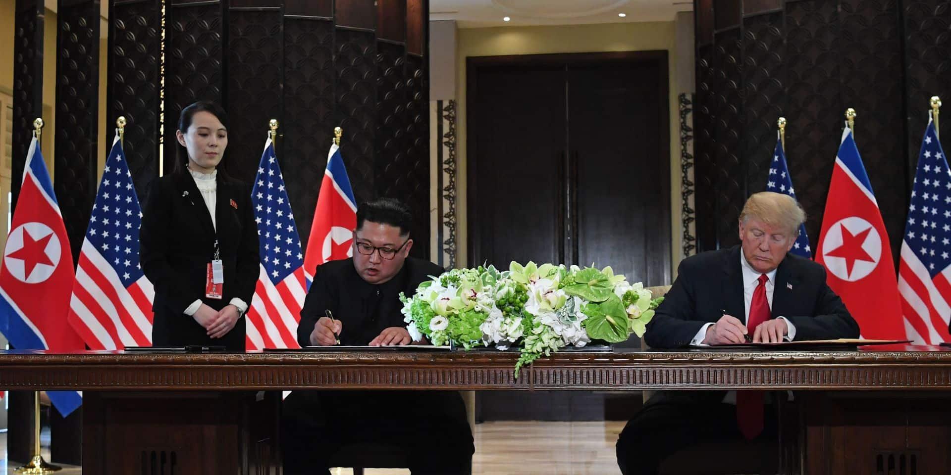 """Vantardises ennuyeuses"" de la part de ""quelqu'un d'orgueilleux"": la soeur de Kim Jong Un tacle Donald Trump"