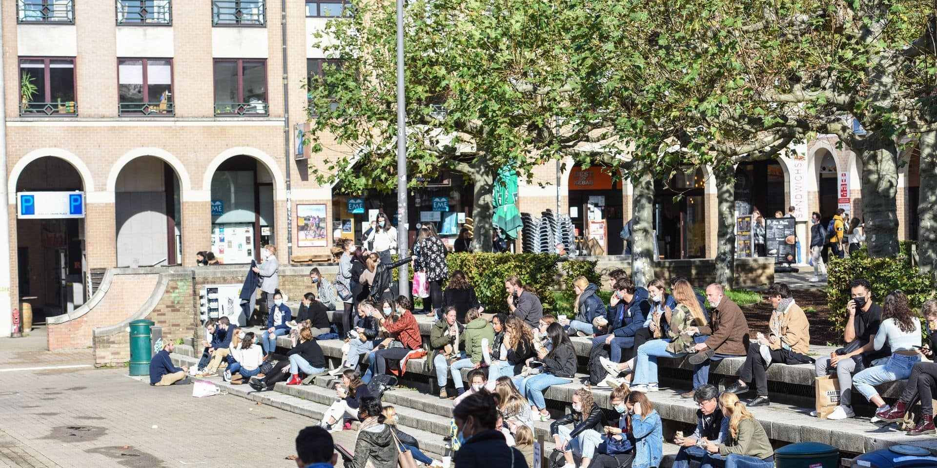 Nouveau débordement à Louvain-la-Neuve: onze personnes verbalisées pour une fête interdite