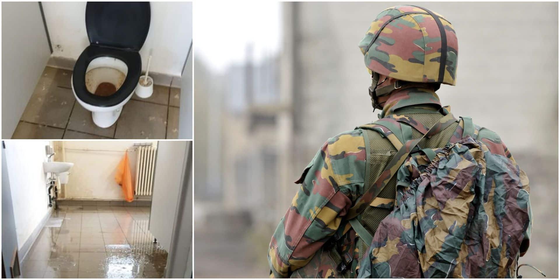 """Coupures d'eau et fuites dans les casernes: """"Des milliers de militaires sont pénalisés par le sous-investissement, on a l'impression d'être en guerre"""""""