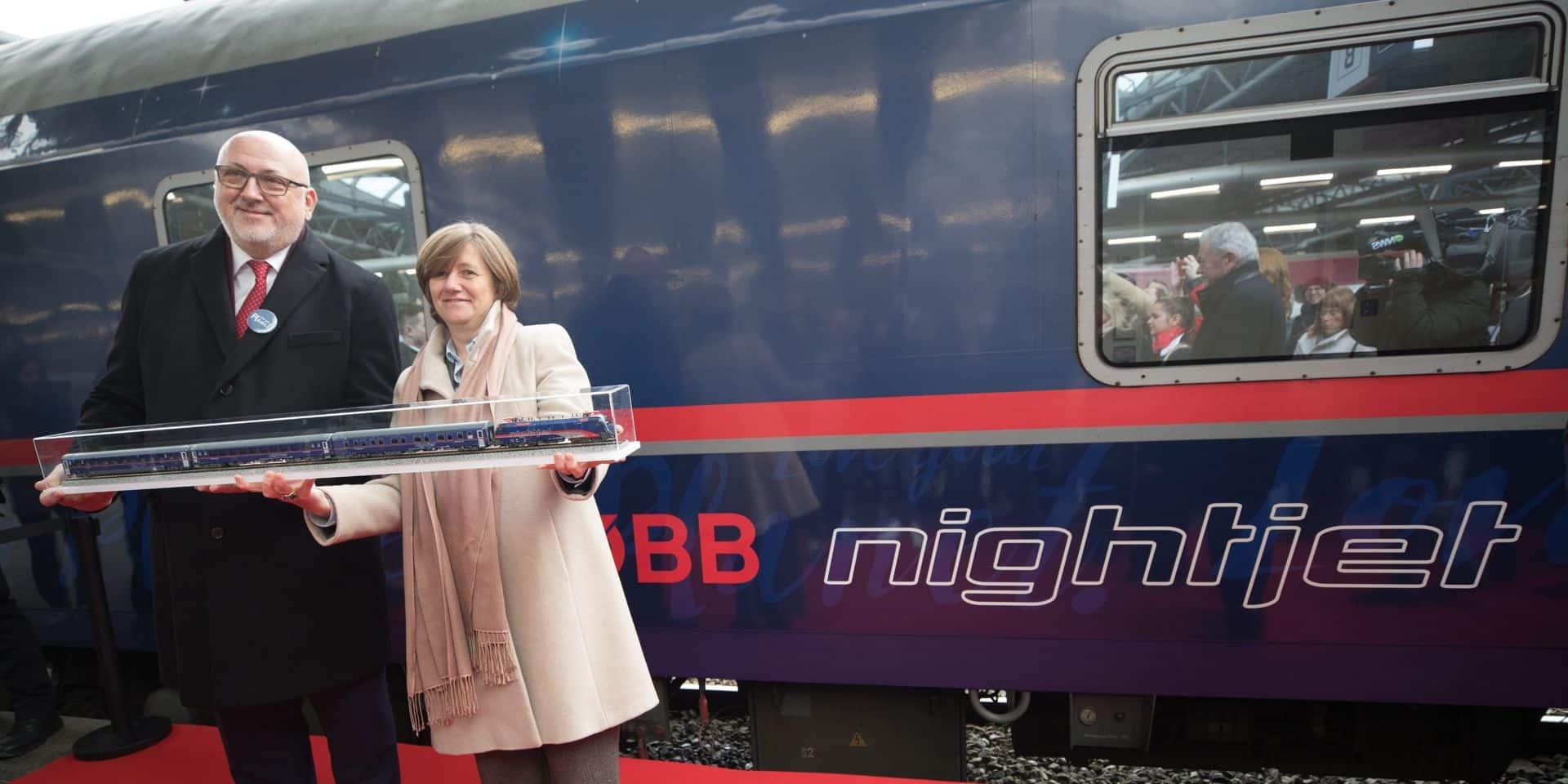 La première liaison de nuit entre Bruxelles et Vienne avait été inaugurée le 20 janvier 2020.