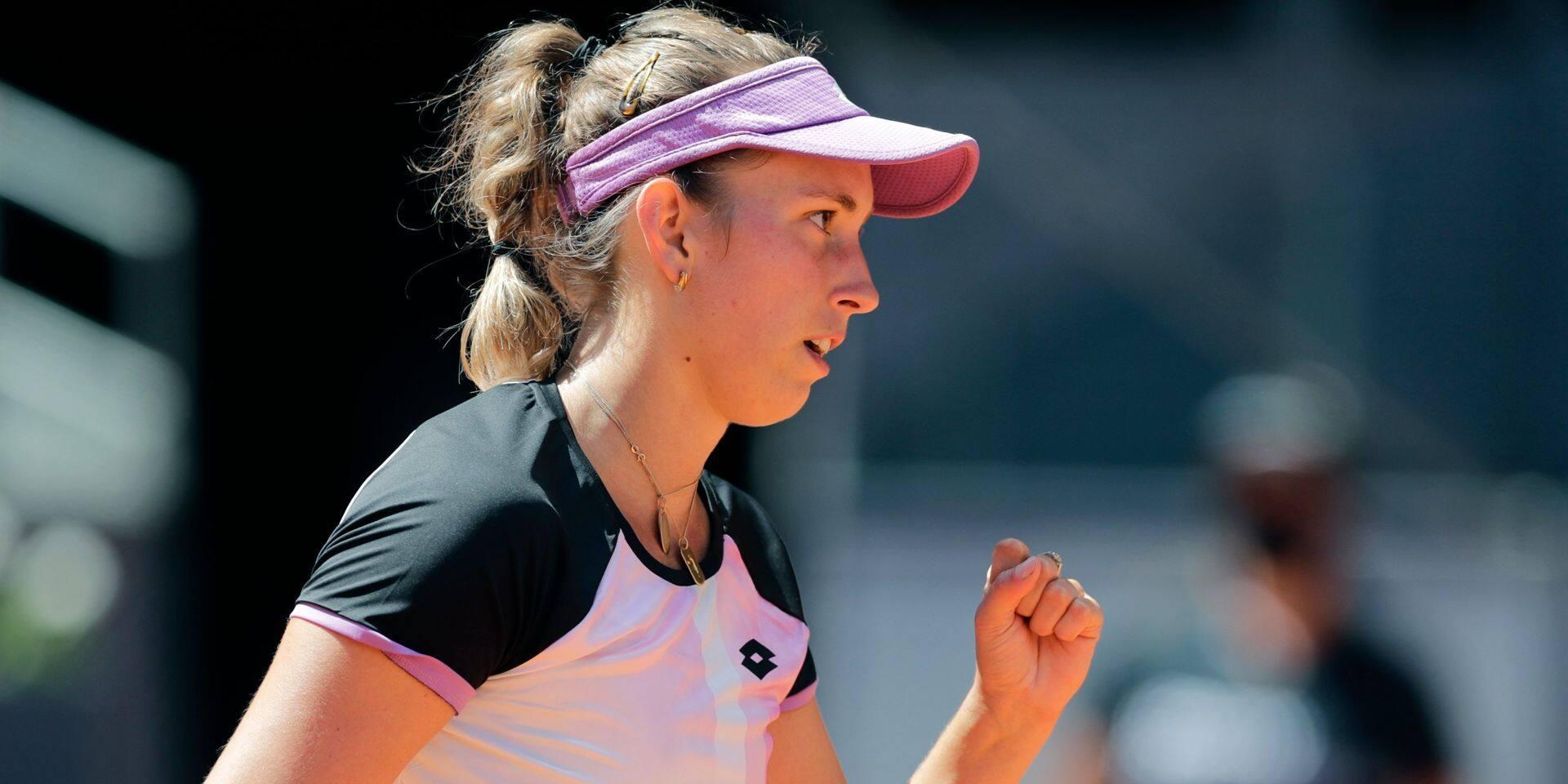 Elise Mertens réussit l'exploit contre Simona Halep en 8e de finale
