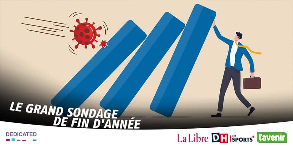 Notre sondage: six francophones sur dix ne croient pas en la relance économique
