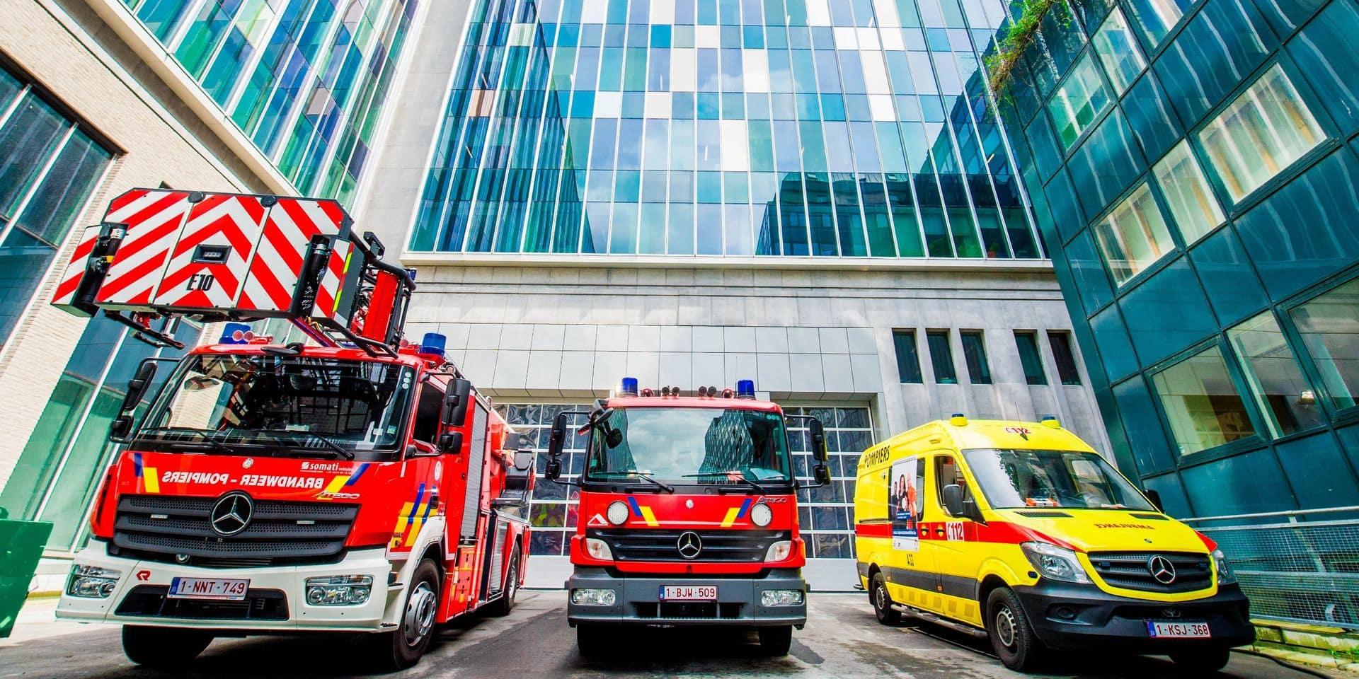 Siamu: une nouvelle caserne état-major pour les pompiers bruxellois