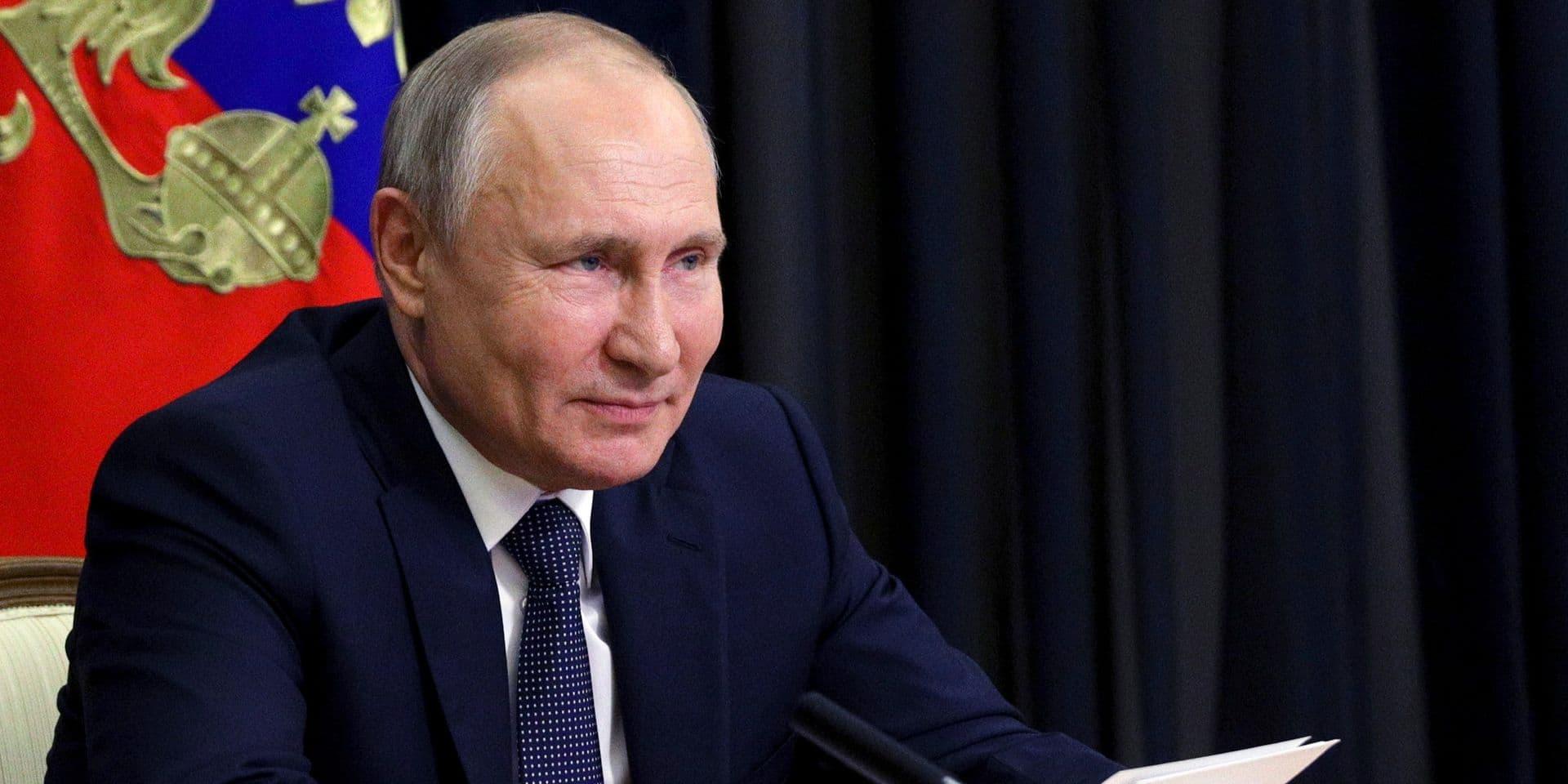 """""""Nous n'avons pas de sujets tabous"""": Poutine veut discuter avec Biden de l'assaut du Capitole"""