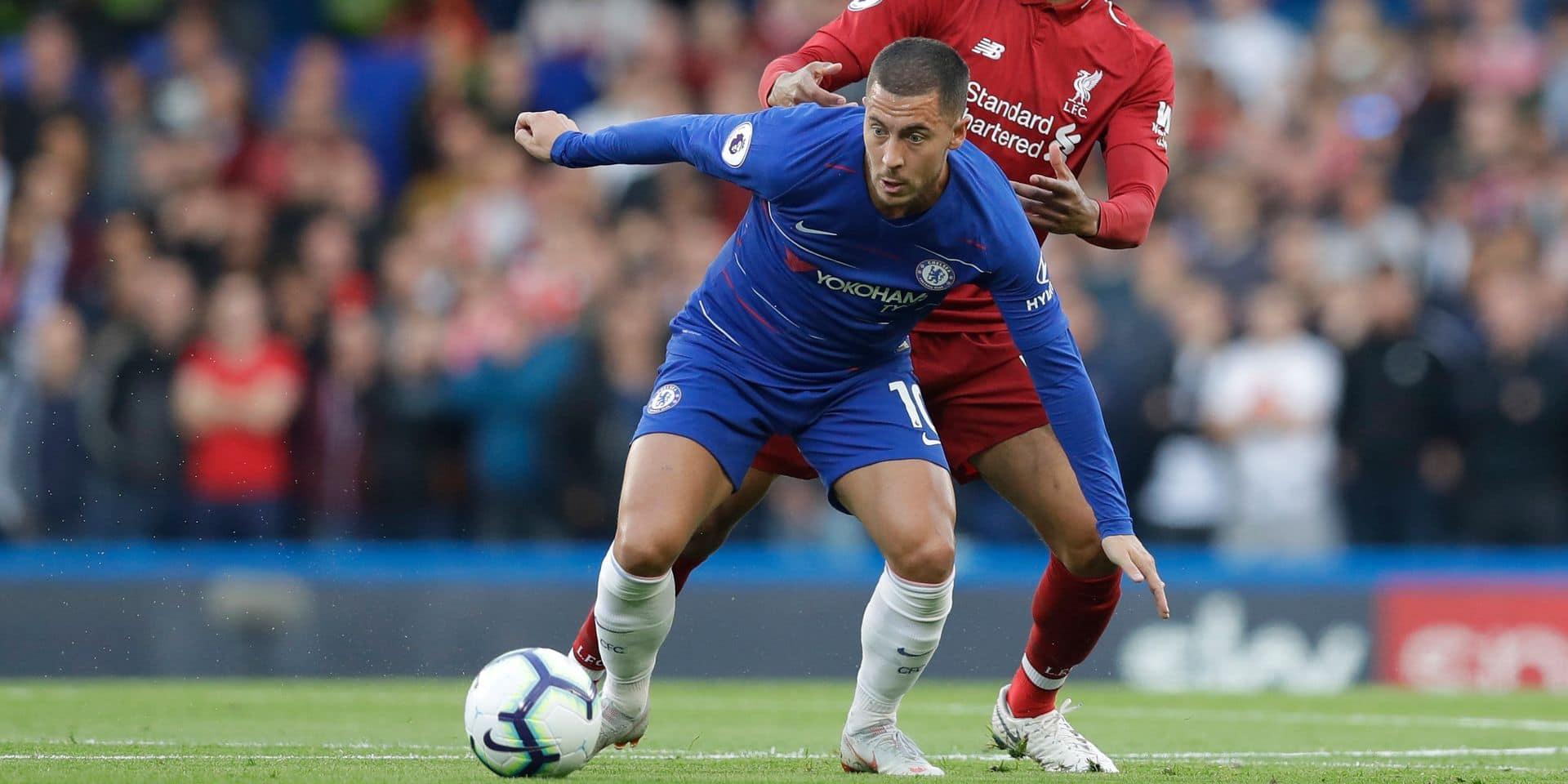 Les Belges à l'étranger: Eden Hazard et Dries Mertens buteurs contre Liverpool et la Juventus (VIDEOs)
