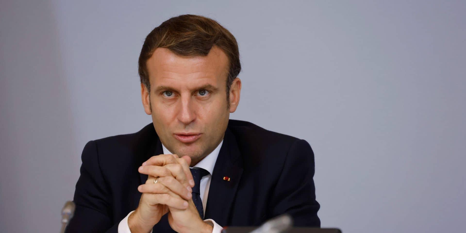 Emmanuel Macron interviewé jeudi en direct sur Brut
