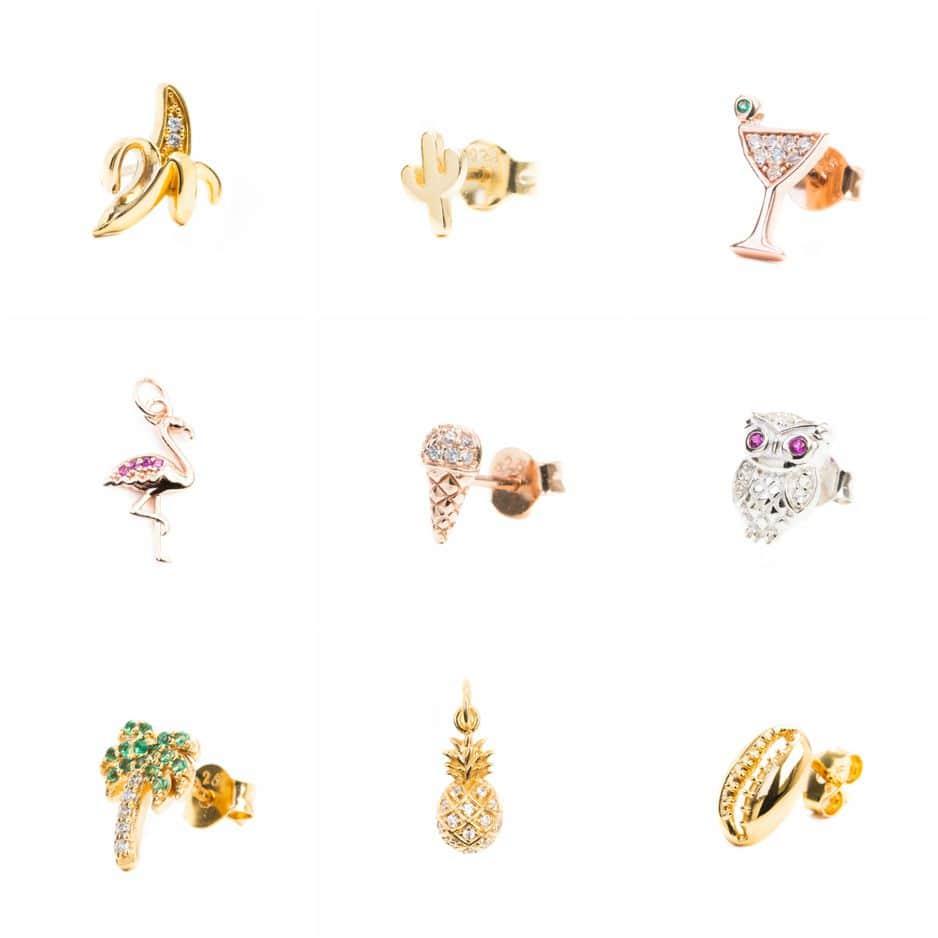 En argent massif et vermeil 18 carats, entre 15 et 25€ la boucle unique, 83 Rue Antoine Dansaert, 1000 Bruxelles                            www.imaginjewels.com