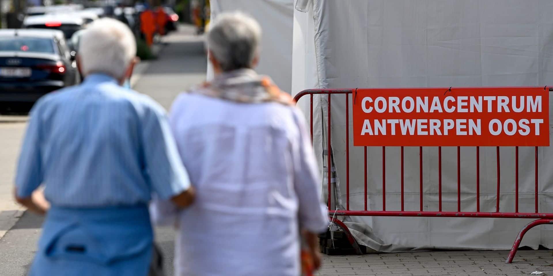 Le Covid-19 a déjà infecté 800.000 Belges, soit 7% de la population