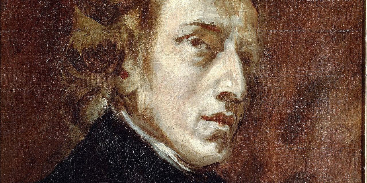 Portrait de Frederic Chopin (1810 - 1849), compositeur polonais. Peinture de Eugene Delacroix (1798-1863), 1838. Huile sur toile. Dim : 0,45 X 0,38m. Paris, Musee du Louvre ©Luisa Ricciarini/Leemage Reporters / Leemage