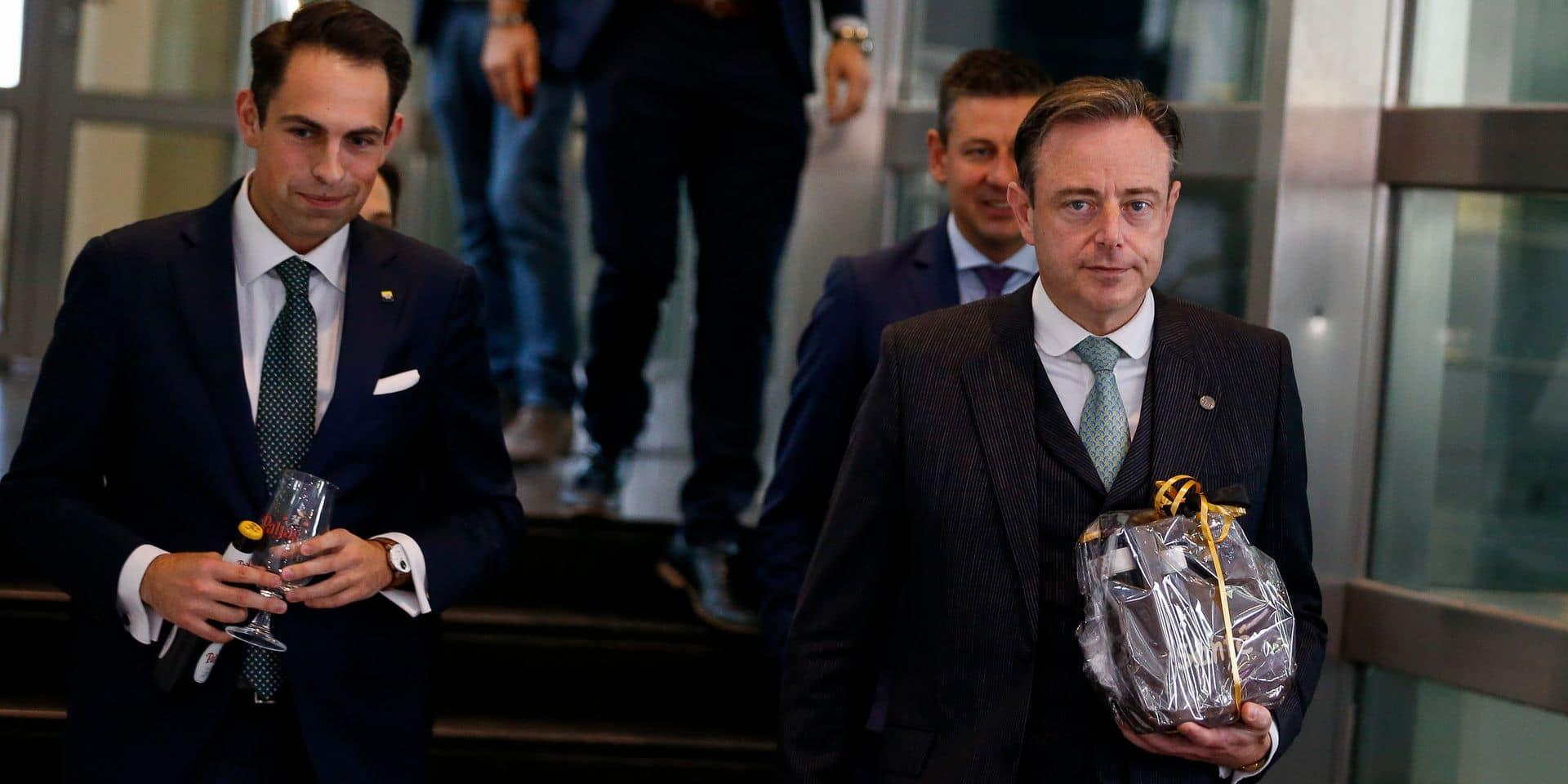 Bart De Wever s'est entretenu une deuxième fois avec le Vlaams Belang