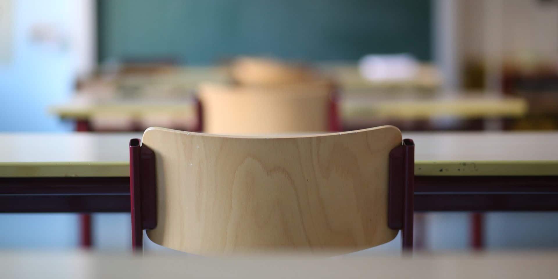 Situation dans les écoles: le nombre d'absences a explosé en une semaine