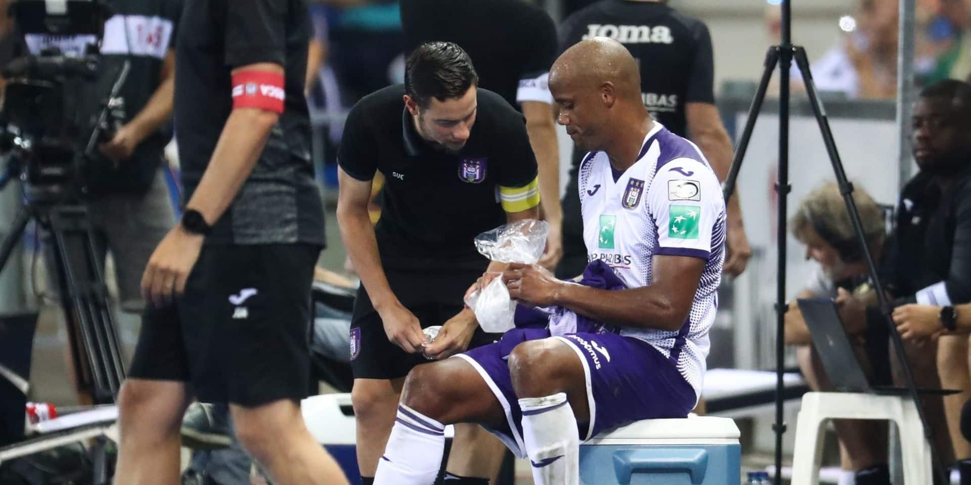 Anderlecht s'incline à nouveau face à Genk, Kompany sort sur blessure
