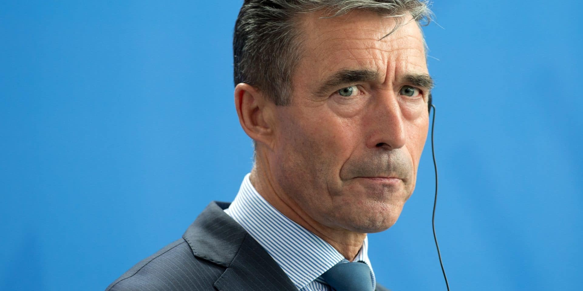 """L'ex-chef de l'Otan estime """"très élevé"""" le risque d'ingérence aux élections allemandes"""