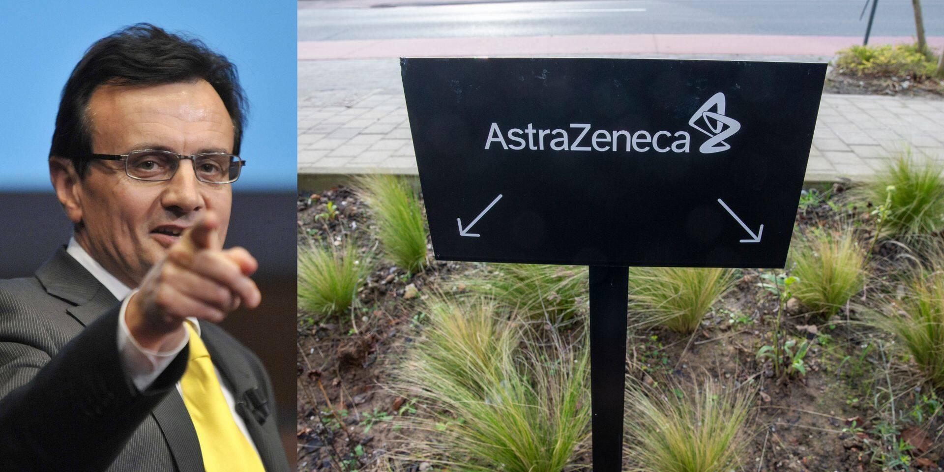 AstraZeneca prend-il des vaccins aux Européens pour les vendre ailleurs? Son PDG répond aux critiques