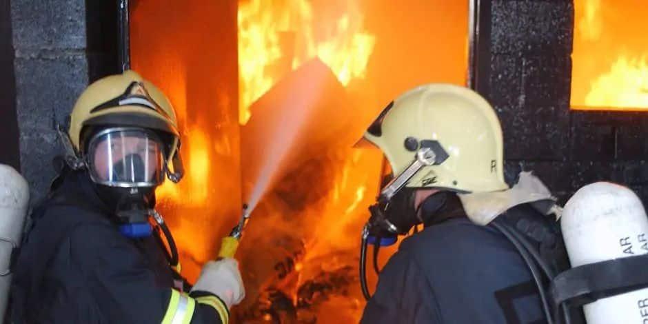 Non, aucun avion ne s'est crashé à Villers-la-Ville: il s'agissait d'un feu de jardin