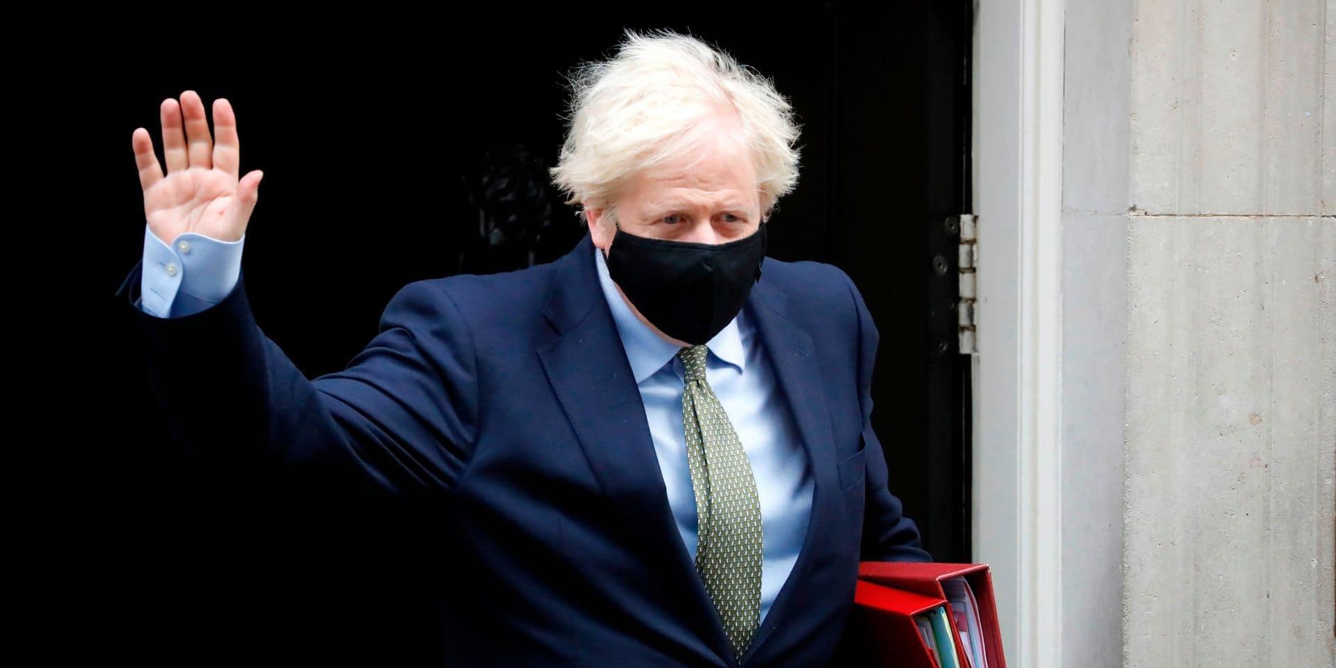 """Brexit: le Royaume-Uni """"doit se préparer"""" à un """"no-deal"""", déclare Boris Johnson"""