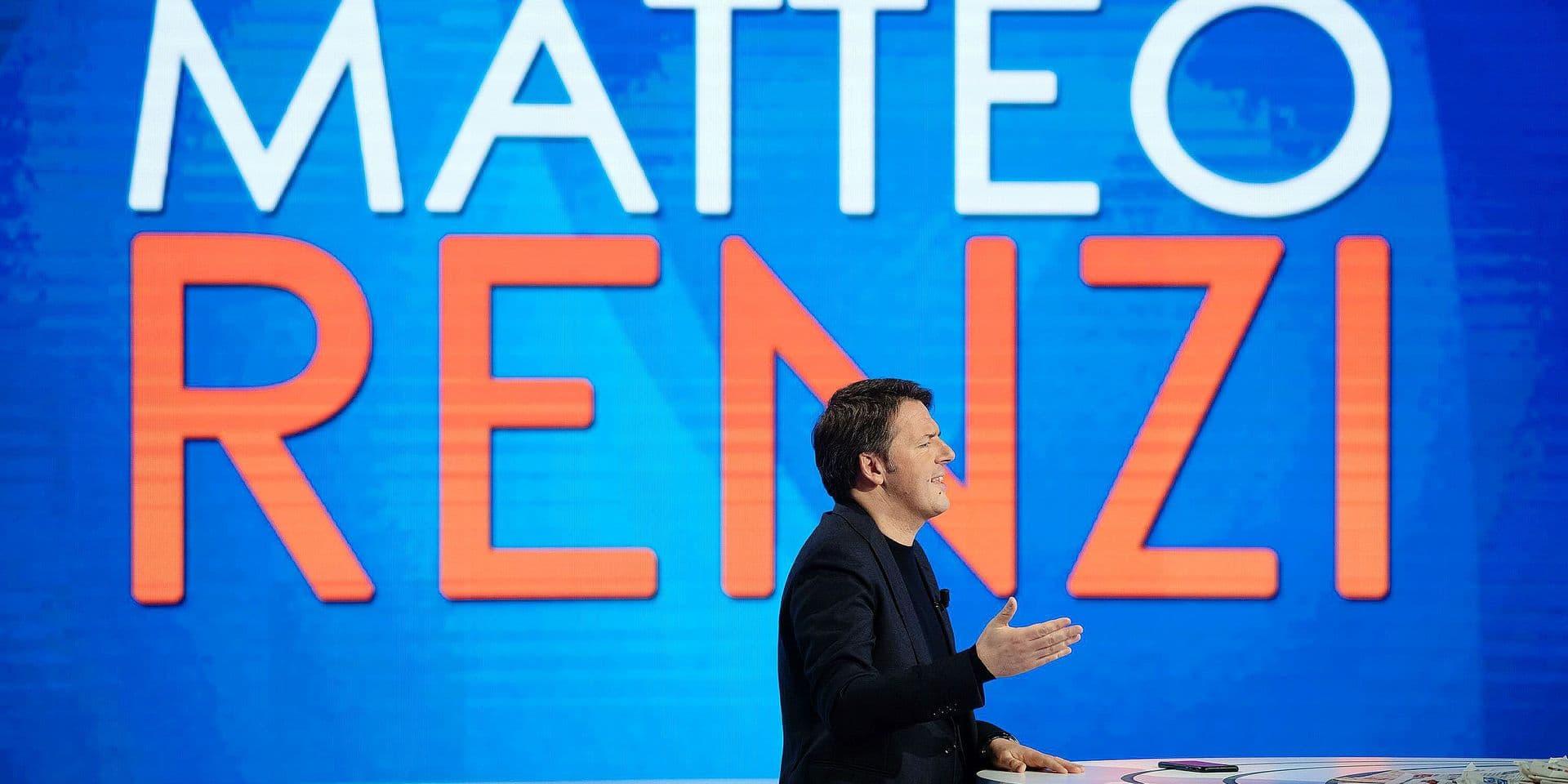 foto IPP/Paolo Gargini Roma 11/03/2019 Trasmissione televisiva l Aria che Tira nella foto Matteo Renzi - partito democratico PD PUBLICATIONxNOTxINxITAxFIN 0