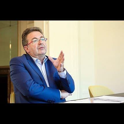 Rudy Vervoort (PS), ministre-Président de la Région de Bruxelles-Capitale