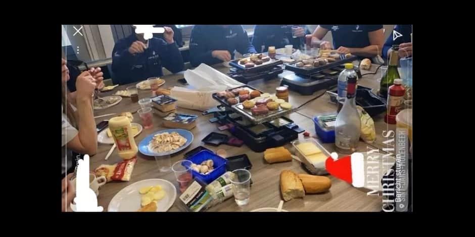Molenbeek : Un dîner clandestin au commissariat, la zone de police confirme