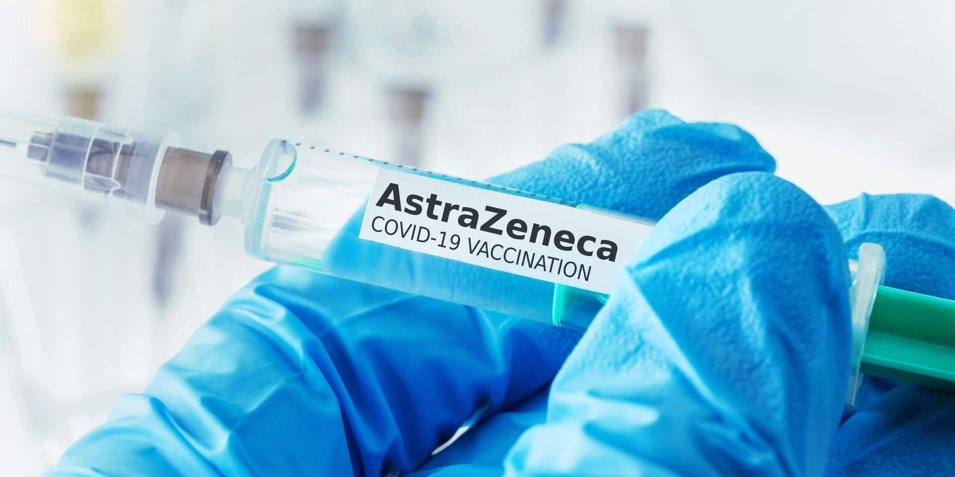 La confiance des Européens dans le vaccin AstraZeneca a chuté ces deux dernières semaines