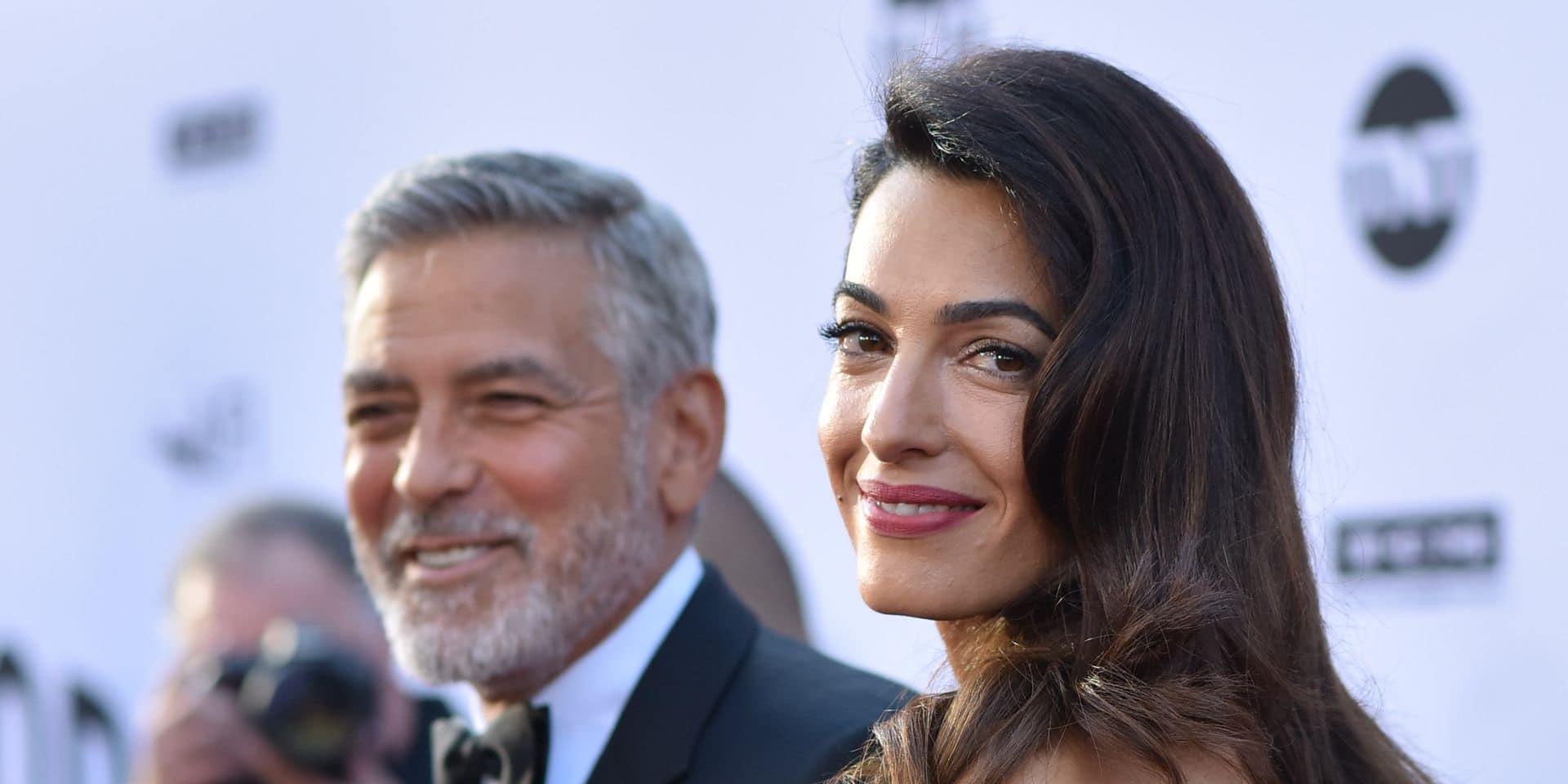 Amal et George Clooney plus glamour que jamais