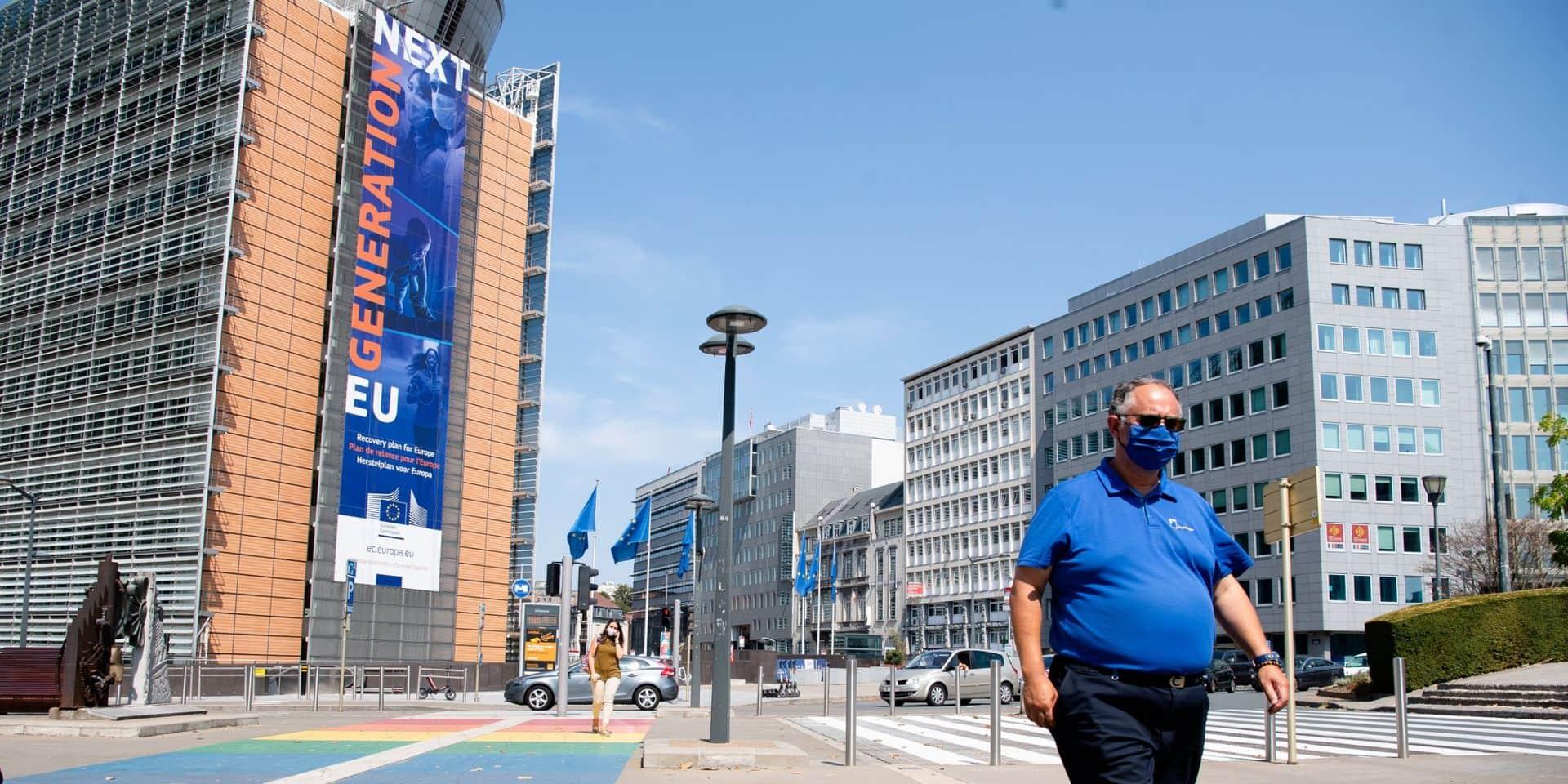 Coronavirus : Bruxelles en rouge sur la carte de l'Europe