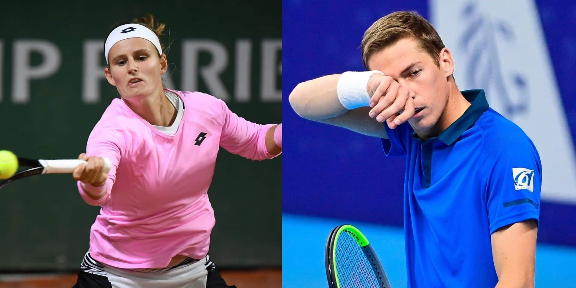Kimmer Coppejans et Greet Minnen se qualifient pour le tableau final de l'Open d'Australie, Bonaventure et Zanevska éliminées
