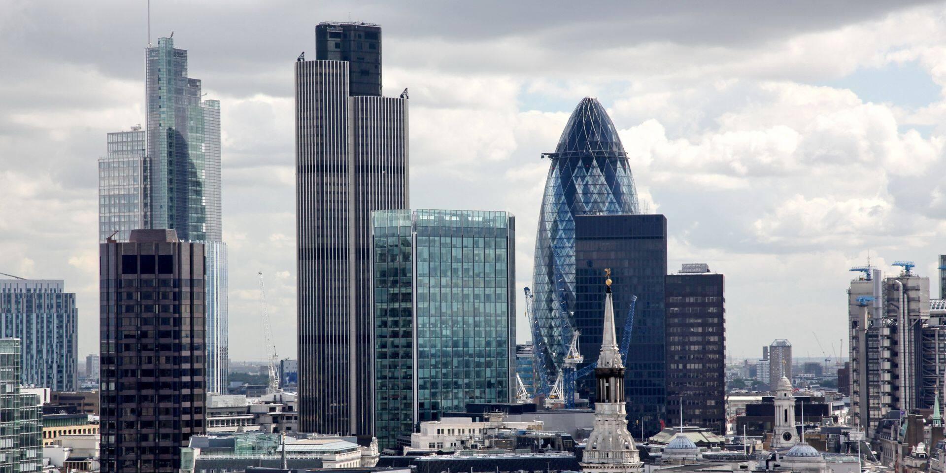 """""""Les entreprises nous ont dit qu'elles voulaient rester présentes dans le centre de Londres mais que la manière dont elles fonctionnent va inévitablement changer"""", souligne Catherine McGuinness, cheffe politique de la City."""
