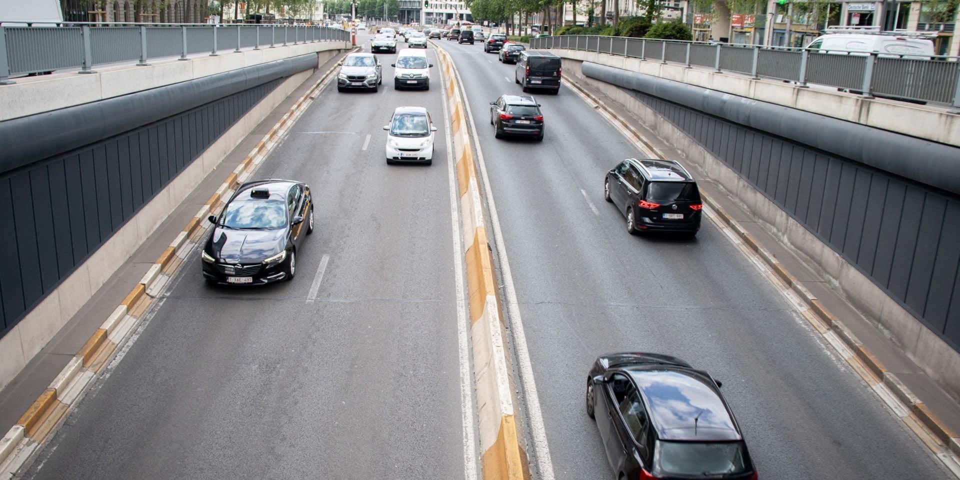 21% de trafic en moins à Bruxelles : le gouvernement planche sur un plan favorisant le télétravail