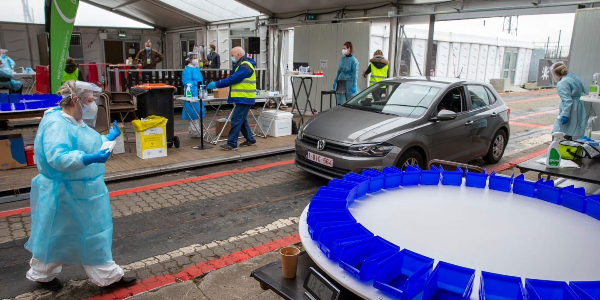 Seulement 45 cas positifs après des tests à l'échelle de tout un quartier à Anvers