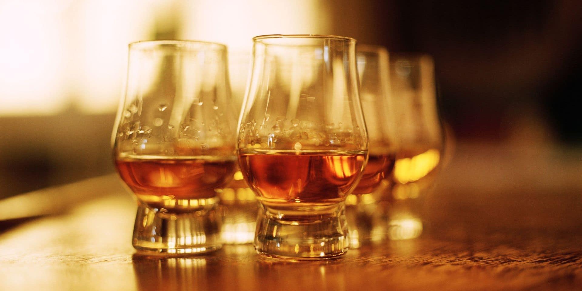 Une plus-value de 6% en quinze jours: le whisky peut avoir un goût amer