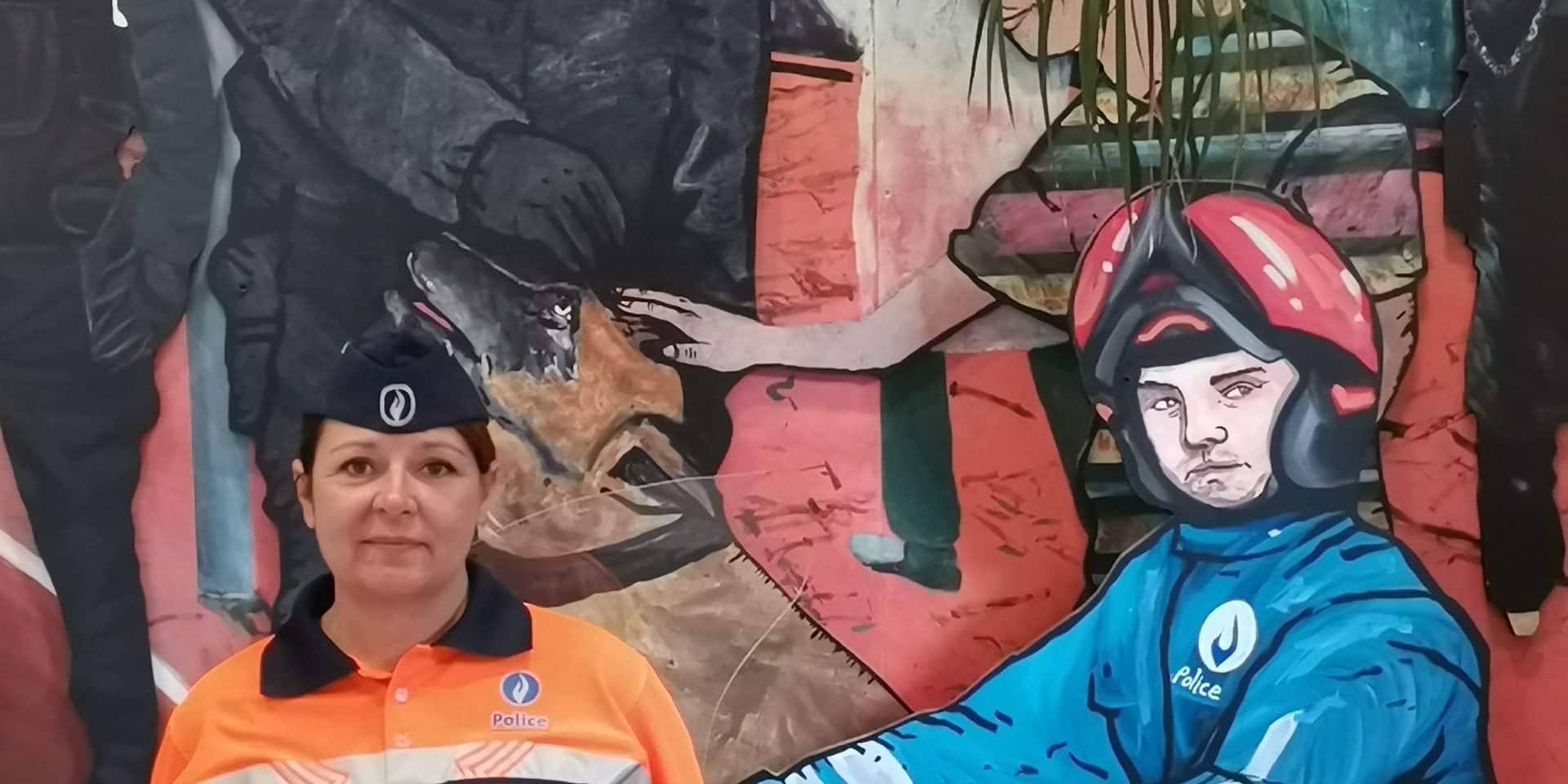"""Karin représentera la police ce 21 juillet: """"Je suis flattée mais c'est un travail d'équipe"""""""