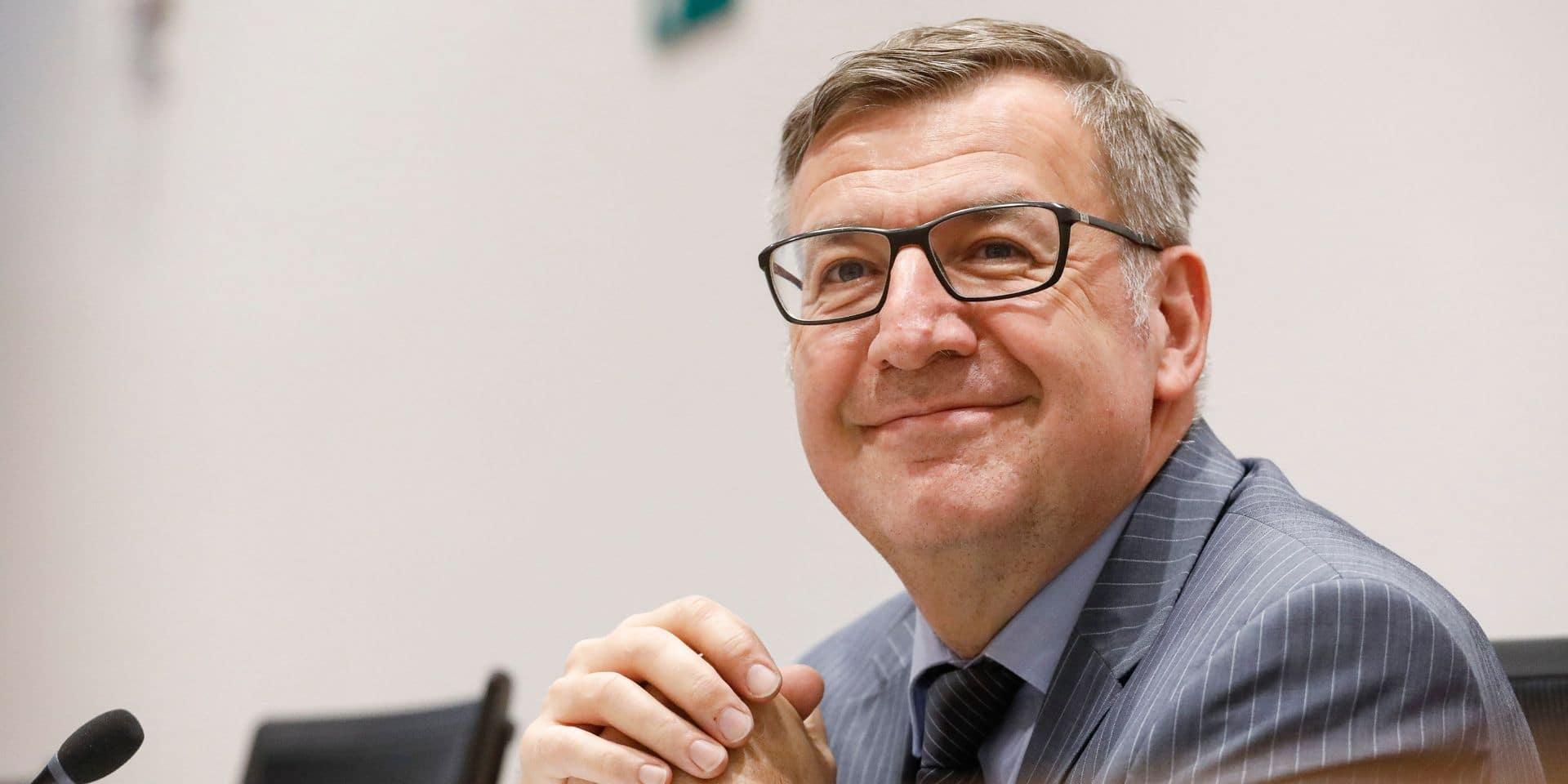 Steven Vanackere est le nouveau vice-gouverneur de la Banque nationale de Belgique