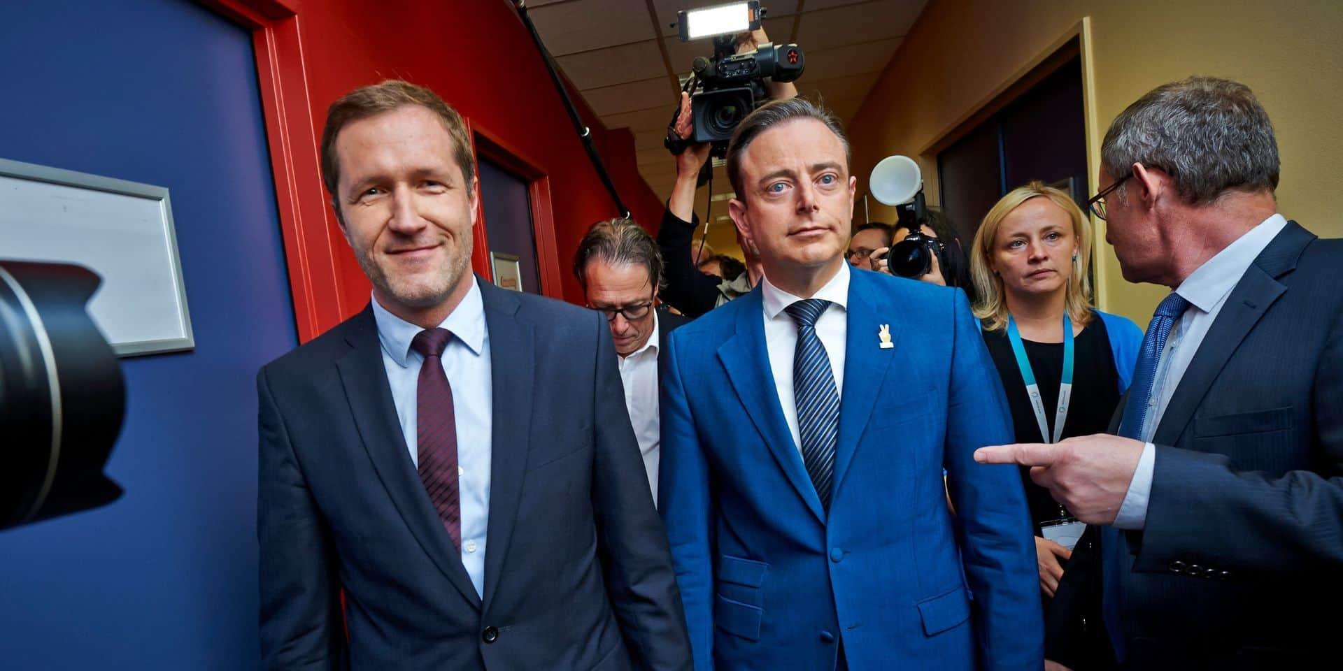 """""""Elle était mieux pour la Flandre"""" : la N-VA publie une version de la note négociée avec les socialistes"""
