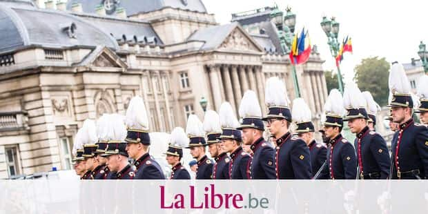 Illustration picture shows the military parade on the Belgian National Day, in Brussels, Saturday 21 July 2018. BELGA PHOTO LAURIE DIEFFEMBACQ