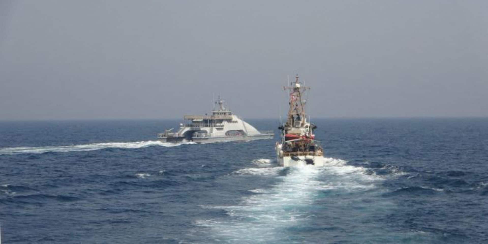 """Golfe: les Etats-Unis dénoncent l'attitude """"agressive"""" d'un navire de guerre iranien"""